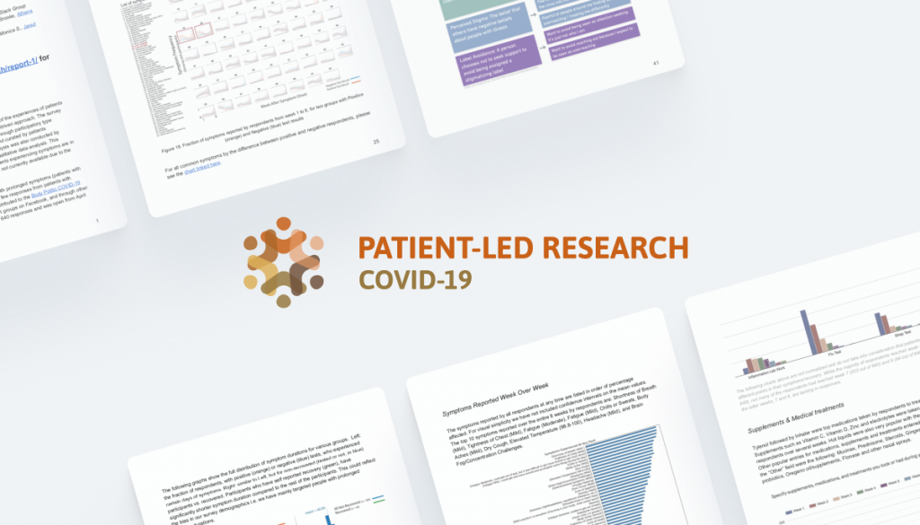 Patient Led Research COVID-19 Banner