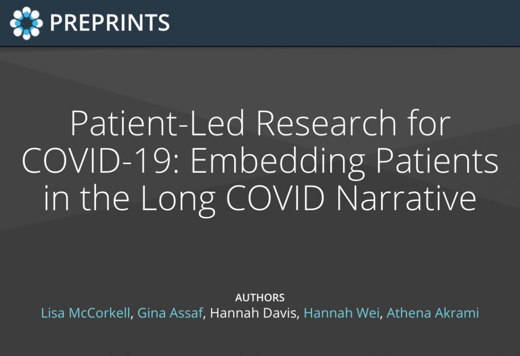 Long Covid Narrative Preprint